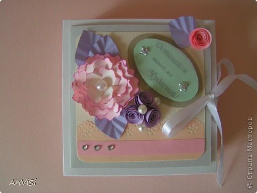 Всем здравствуйте! Вот ещё мои работы. Это первый опыт создания такой коробочки. МК тут: http://mu-ha.blogspot.com/2009/09/blog-post_11.html фото 1