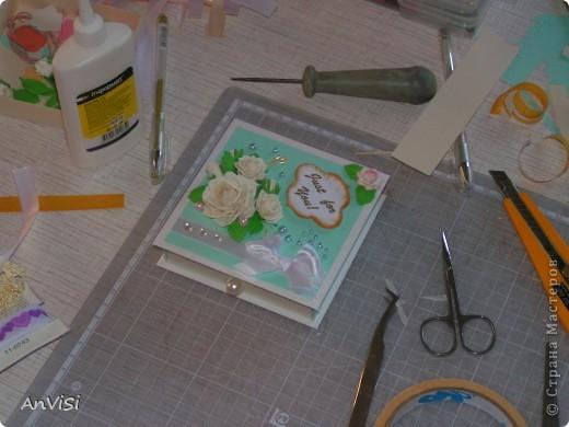 Всем здравствуйте! Вот ещё мои работы. Это первый опыт создания такой коробочки. МК тут: http://mu-ha.blogspot.com/2009/09/blog-post_11.html фото 13
