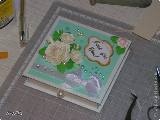 Всем здравствуйте! Вот ещё мои работы. Это первый опыт создания такой коробочки. МК тут: http://mu-ha.blogspot.com/2009/09/blog-post_11.html фото 14