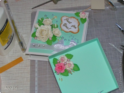 Всем здравствуйте! Вот ещё мои работы. Это первый опыт создания такой коробочки. МК тут: http://mu-ha.blogspot.com/2009/09/blog-post_11.html фото 15