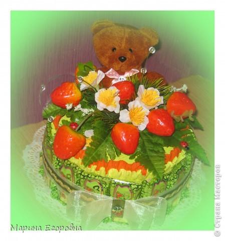 Букет из 35 желтых бутонов роз фото 10