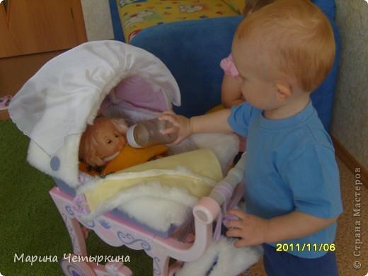 Преображение коляски для куклы фото 4
