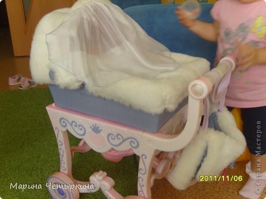 Преображение коляски для куклы фото 1