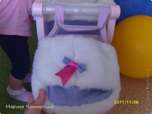 Преображение коляски для куклы фото 3