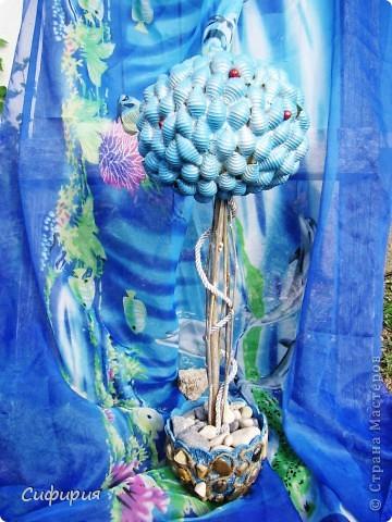 Здравствуйте, мои дорогие и любимые жители Страны Мастеров! Хочу сегодня показать свое многострадальное деревце, с которым мне пришлось повозиться! Сподвигло на сие творение замечательные работы Любочки (Зимняя вишенка) здесь ее чудесное деревце http://stranamasterov.ru/node/396331 , мое конечно и близко не стояло, но я все равно довольная как слон! У меня теперь есть еще и такое деревце! фото 16