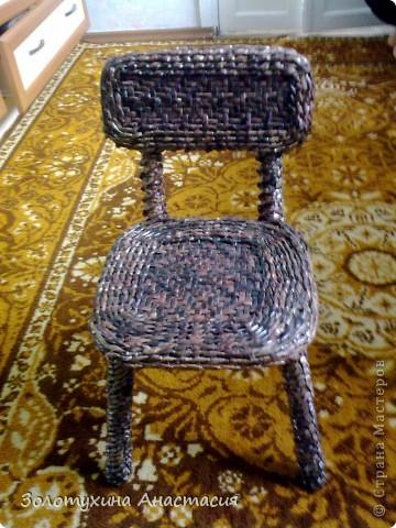 Жил был у бабушки старенький стульчик ! фото 1
