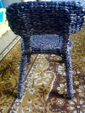 Жил был у бабушки старенький стульчик ! фото 3
