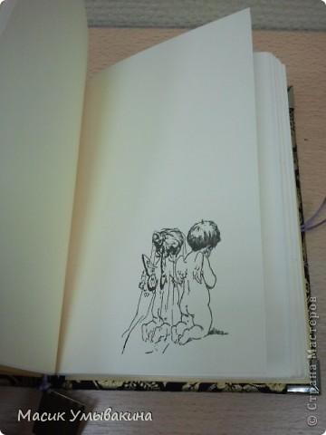 Записная книжка, полность сделанная вручную. Книга для самых трепетных мыслей.... фото 4