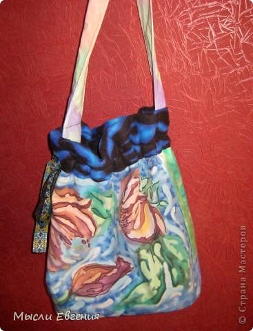 шарфы....батик.... работы дочери.. фото 4