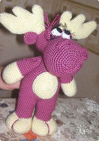 Лосик Пуки. Связан по описанию из интернета. фото 1