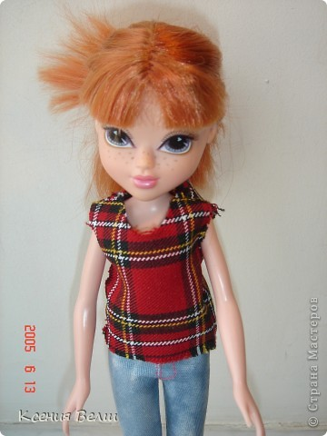 """13 августа появилась у нас новая кукла - Кристина. Она из Moxie Girls, и изначально ее звали Келлан, но Настенька ее переименовала. Показываю ее в """"родном"""" наряде: фото 3"""