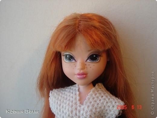 """13 августа появилась у нас новая кукла - Кристина. Она из Moxie Girls, и изначально ее звали Келлан, но Настенька ее переименовала. Показываю ее в """"родном"""" наряде: фото 2"""