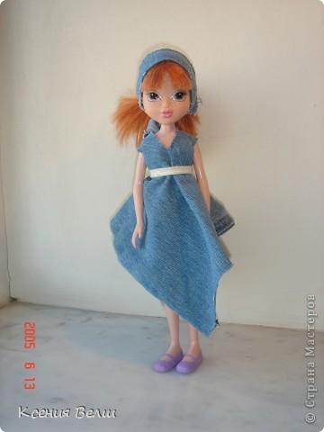 """13 августа появилась у нас новая кукла - Кристина. Она из Moxie Girls, и изначально ее звали Келлан, но Настенька ее переименовала. Показываю ее в """"родном"""" наряде: фото 5"""