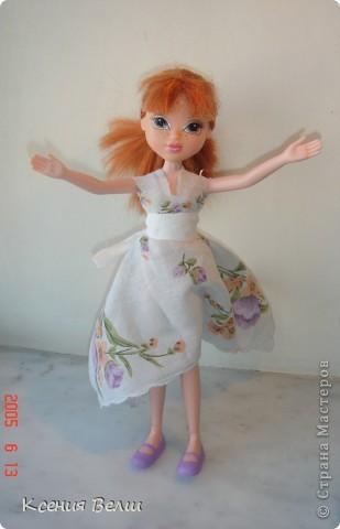 """13 августа появилась у нас новая кукла - Кристина. Она из Moxie Girls, и изначально ее звали Келлан, но Настенька ее переименовала. Показываю ее в """"родном"""" наряде: фото 6"""