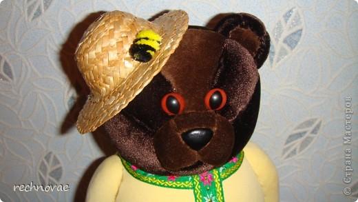 Вот такой медведик народился у меня в канун Медового Спаса фото 2