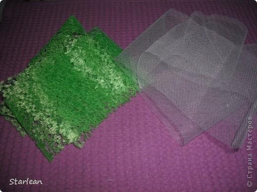 вот такой букетик -дублер я делала для сестры на свадьбу.хочу показать как я делала основу под букетик, на примере другого букета фото 11