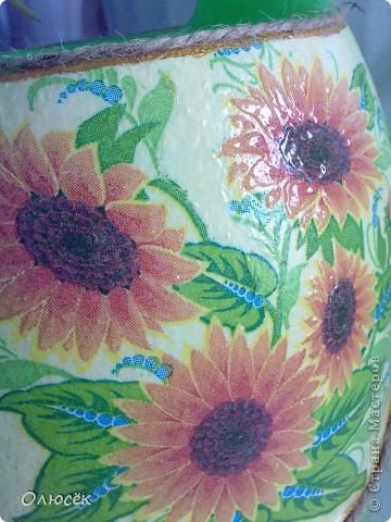 Леечка для любимой свекрови :) Цветов у нее дома много, значит подарок мой в хозяйстве пригодится! Это один бочок... фото 5