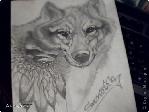 Очень люблю рисовать  простым карандашом фото 2