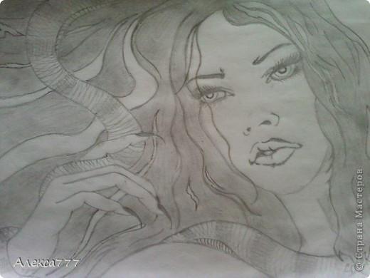 Очень люблю рисовать  простым карандашом фото 8