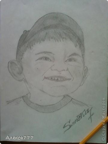 Очень люблю рисовать  простым карандашом фото 4