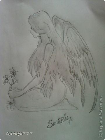 Очень люблю рисовать  простым карандашом фото 9