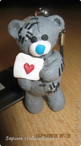 Вот благодоря этому МК я научилась лепить мишку Тедди http://stranamasterov.ru/node/349761?c=favorite но думаю следующий будет лучше=) фото 1
