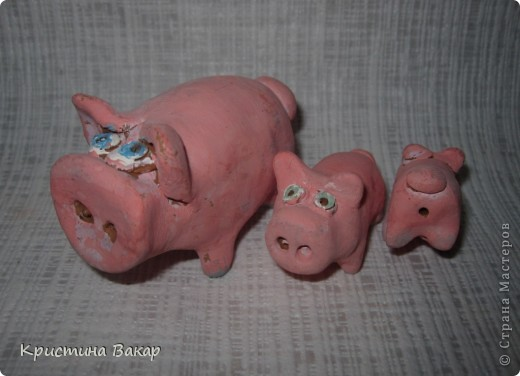 Моя сестра Ульяна ходит на кружок по керамике. Вот некоторые её работы. Не судите строго, ей всего 9 лет))))) фото 6