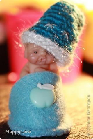 """Моя первая кукла из полимерной глины=) Шляпница=) как ДЖонни ДЕпп из """"Алисы в стране Чудес""""..только у меня """"ОНА""""  фото 4"""