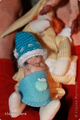 """Моя первая кукла из полимерной глины=) Шляпница=) как ДЖонни ДЕпп из """"Алисы в стране Чудес""""..только у меня """"ОНА""""  фото 5"""
