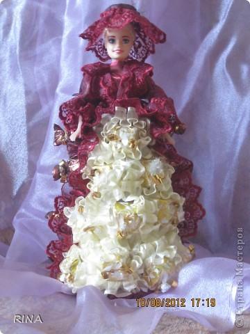 """Вот такую """"сладкую"""" куколку-невесту сделала по просьбе сына. фото 5"""