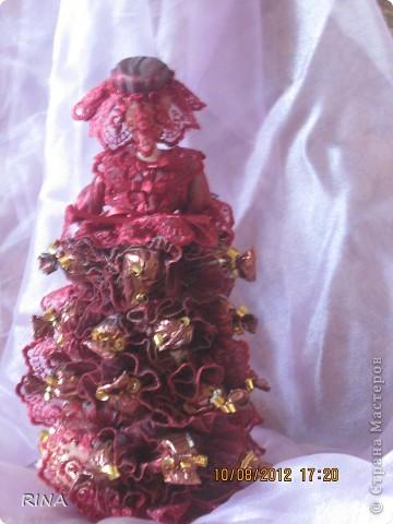 """Вот такую """"сладкую"""" куколку-невесту сделала по просьбе сына. фото 7"""