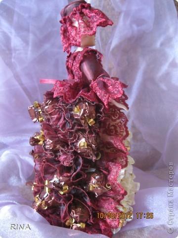 """Вот такую """"сладкую"""" куколку-невесту сделала по просьбе сына. фото 6"""