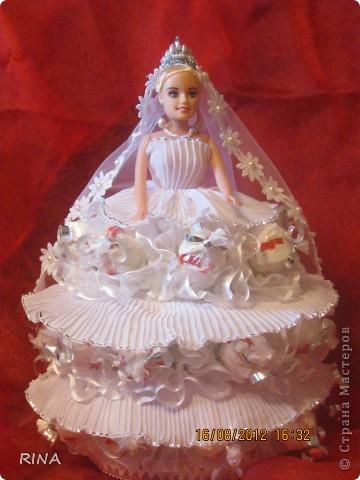 """Вот такую """"сладкую"""" куколку-невесту сделала по просьбе сына. фото 1"""