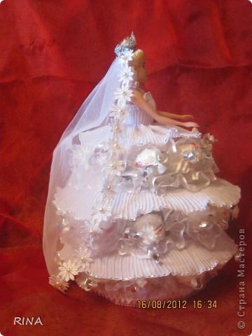 """Вот такую """"сладкую"""" куколку-невесту сделала по просьбе сына. фото 3"""