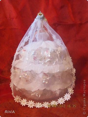 """Вот такую """"сладкую"""" куколку-невесту сделала по просьбе сына. фото 4"""