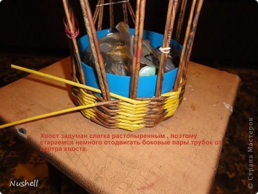 Плетение курочки. Мастеркласс фото 11