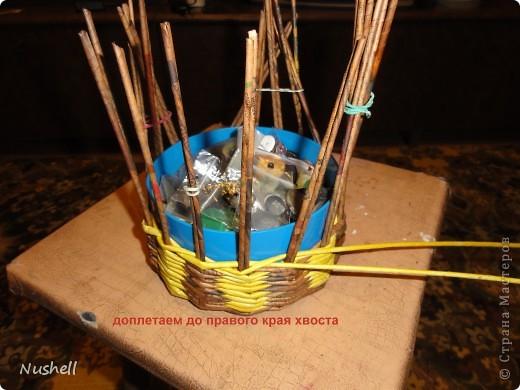 Плетение курочки. Мастеркласс фото 14