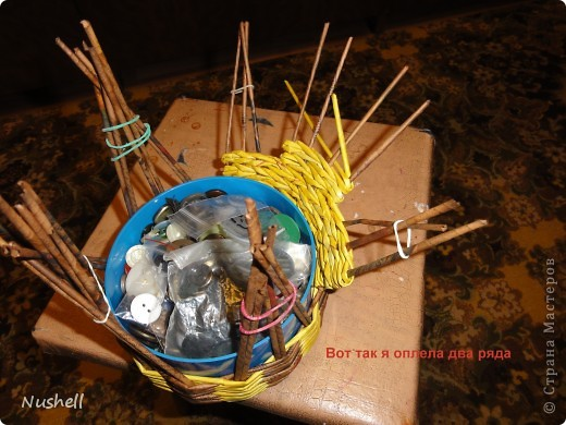 Плетение курочки. Мастеркласс фото 21