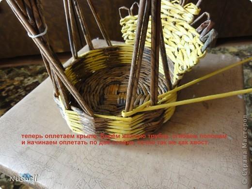 Плетение курочки. Мастеркласс фото 25