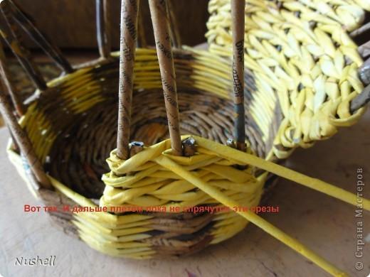 Плетение курочки. Мастеркласс фото 27