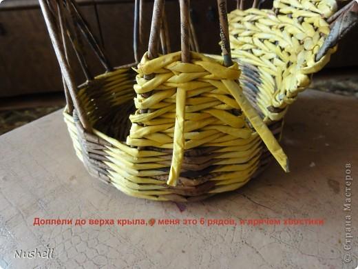 Плетение курочки. Мастеркласс фото 28