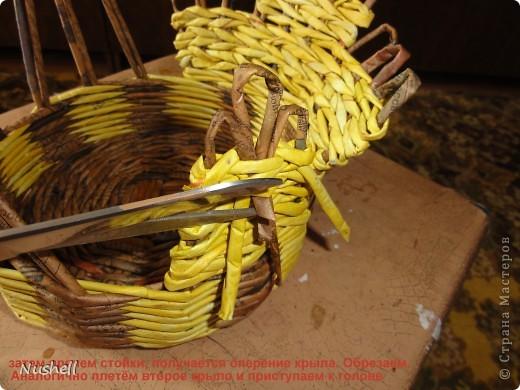 Плетение курочки. Мастеркласс фото 29