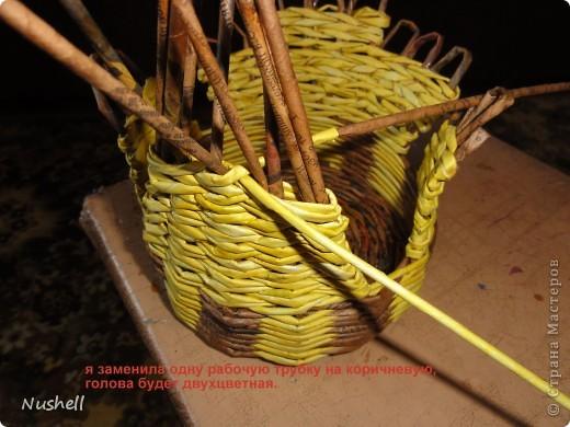 Плетение курочки. Мастеркласс фото 32