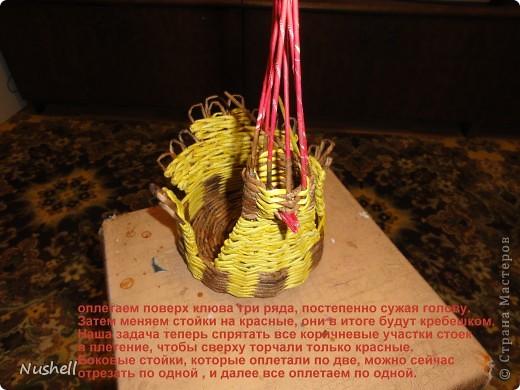 Плетение курочки. Мастеркласс фото 36