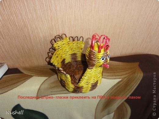 Плетение курочки. Мастеркласс фото 40