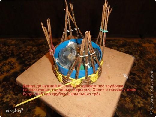 Плетение курочки. Мастеркласс фото 8