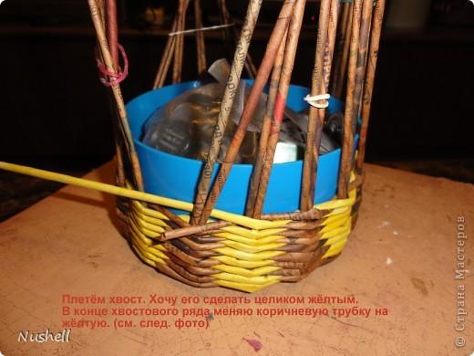 Плетение курочки. Мастеркласс фото 9
