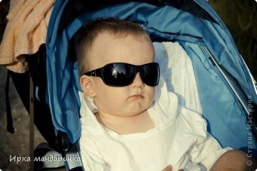 Добрый день, дорогие жители СМ. Как то раз попросила меня сестренка сделать туничку для своего малыша. Лето они проводят в Анапе и, естественно, племяшу необходима какая-то защита от палящего солнца.  фото 1