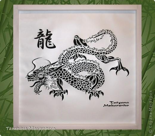 Относительно недавно делала на заказ вот такую картину в моей любимой технике Цзяньчжи. Картина предназначалась мужчина на день рождение. Наверно не сложно догадаться, что по гороскопу он скорпион :) Размер работы 63х63 см. фото 2