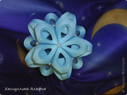 За идею и хороший МК благодарю пользователя сайта elenag. Вот ссылка на ее публикацию мастер-класса: http://stranamasterov.ru/node/24872?c=favorite А вот ссылка на шаблоны для вырезки заготовок: http://jeweledplatypus.org/pixels/other/icosahedron-template.pdf фото 2